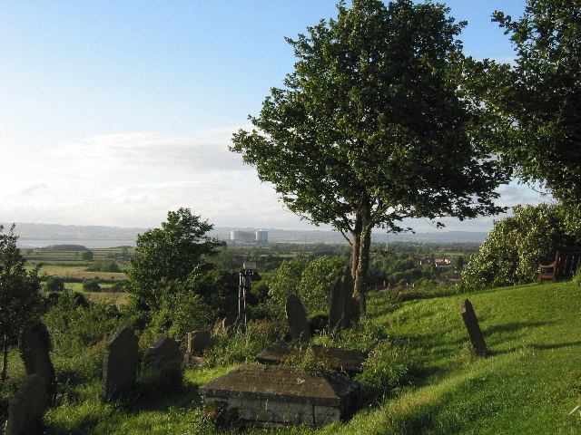 View from the Church in Oldbury-on-Severn