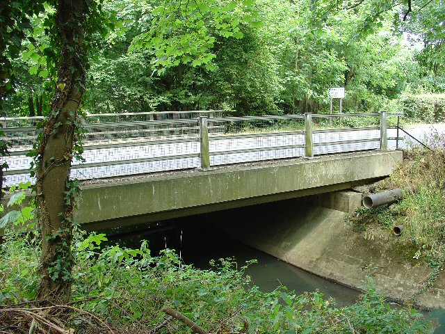 Tinsley Bridge, over the Gatwick Stream, Tinsley Green, Crawley, West Sussex