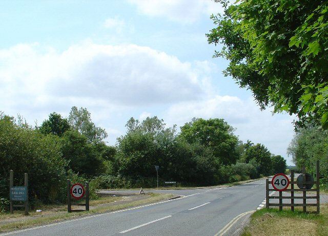 Junction of Lowfield Heath Road, Charlwood Road and Bonnetts Lane, Ifield, Crawley, West Sussex