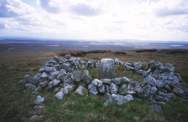 Muirneag, the summit