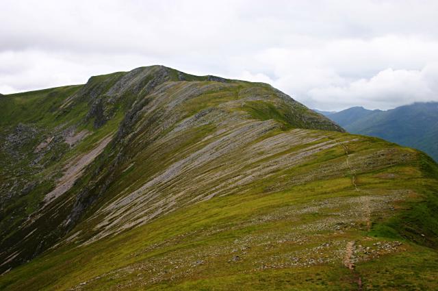 Southeast ridge of Creag a' Mhàim