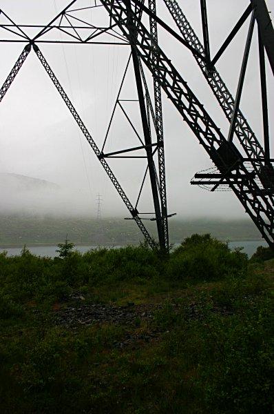 Pylons at Kyle Rhea