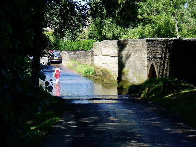 Ford and Bridge, Geddington, Northants