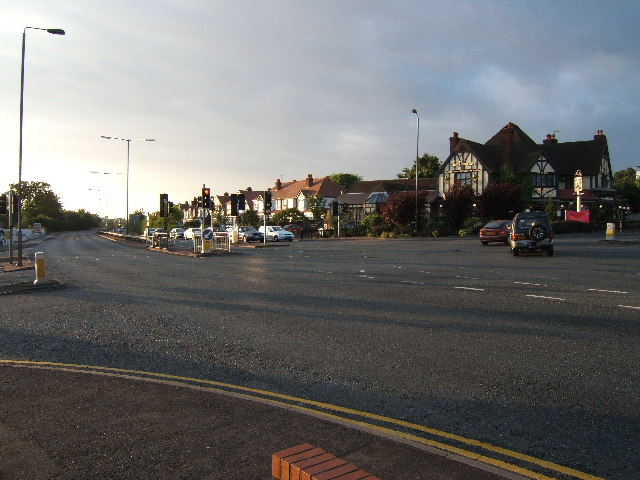 Junction of A24 and A240, Ewell