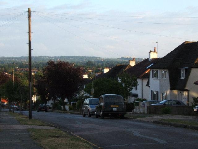 View from Newbury Gardens, Stoneleigh
