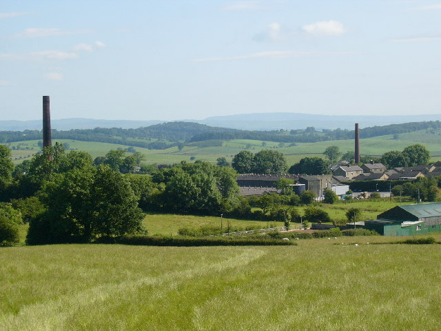 Barnoldswick Mill Chimneys