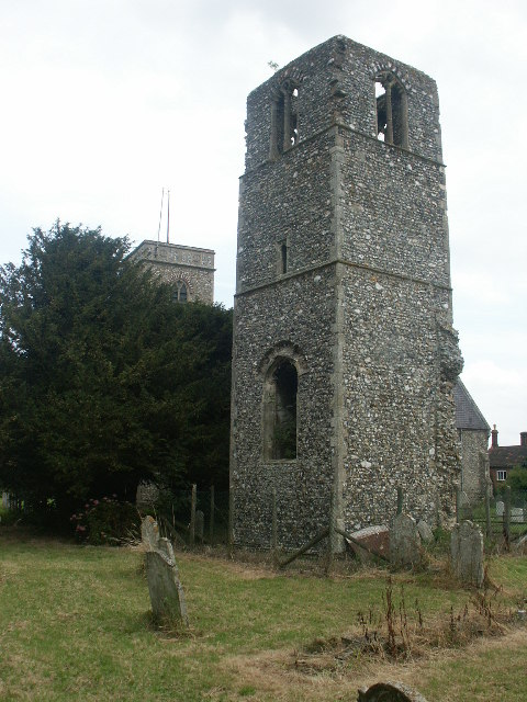 Ruined tower, Great Melton