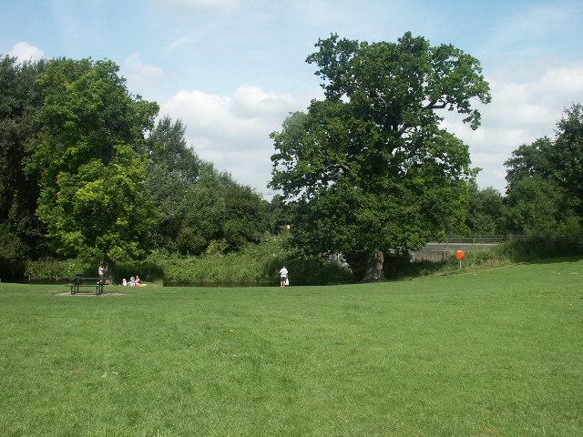 Paddling area, Earlham Park