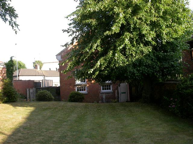 Lawn behind Quaker Meeting House