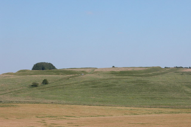 Barbury Castle.