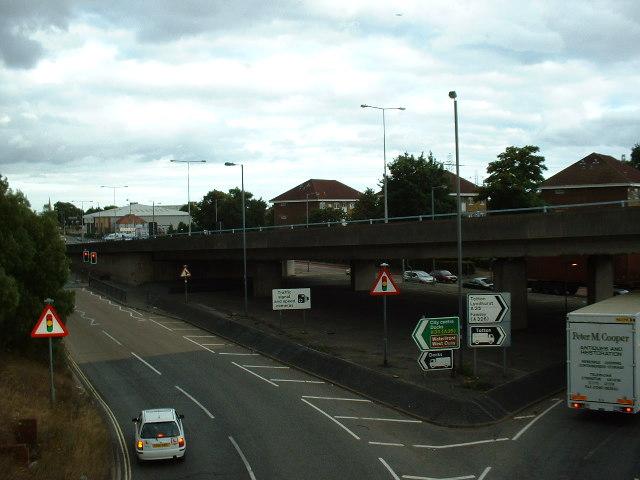 Redbridge Flyover, Southampton