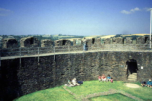 The Ramparts of Totnes Castle