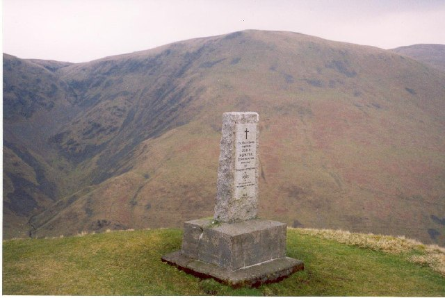 monument at Devil's Beef Tub