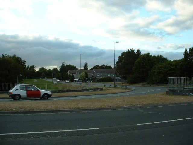 Lordshill Roundabout, Southampton