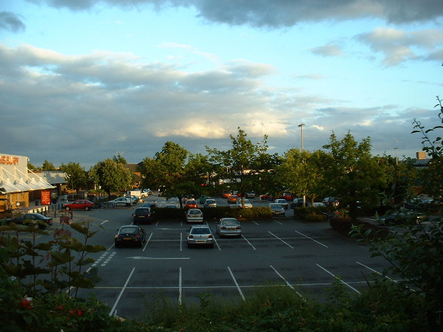 Sainsbury's car park, Lordshill, Southampton