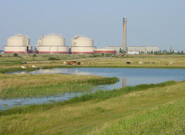 Freshwater pool near Grain Power Station