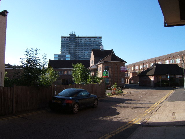 Buildings at the Rear of Tolworth Broadway