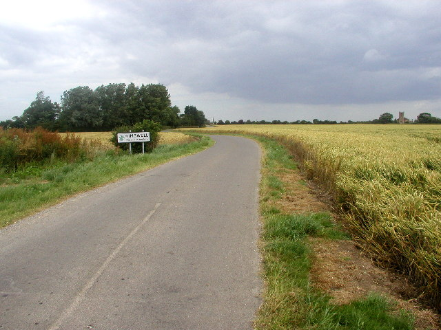 The road to Rimswell