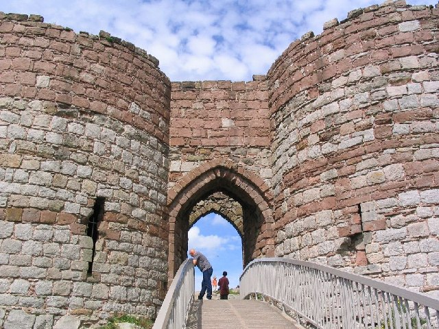 Beeston Castle Gatehouse