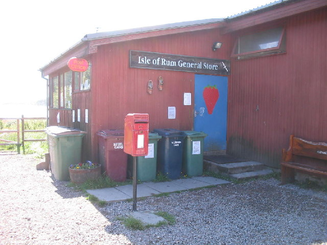 Isle of Rum General Store and Post Office