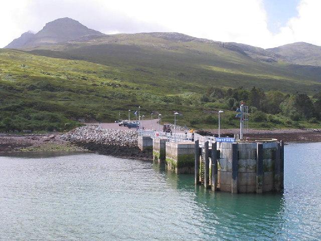 New Pier Isle of Rum