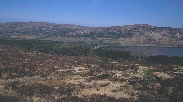 Moorland above Kinloch