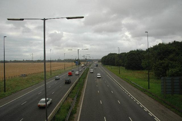 M6 near Winwick