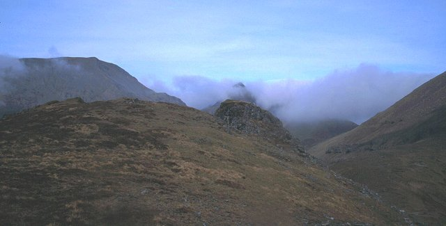 Summit of Beinn nan Stac.