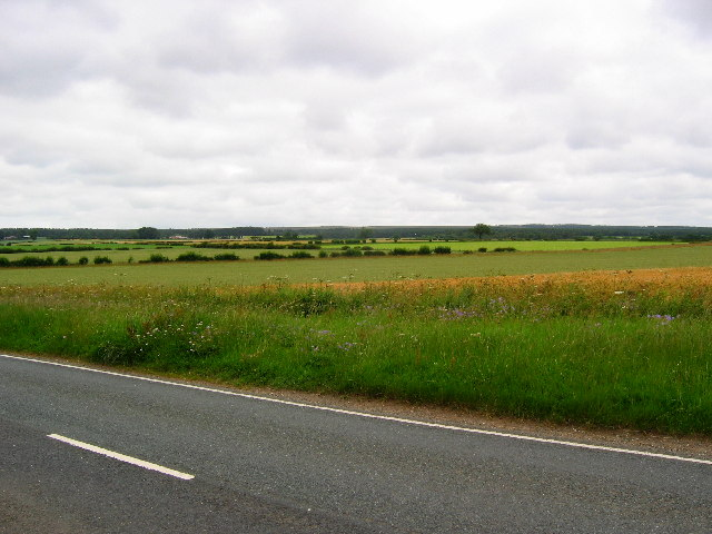 View from the B1257