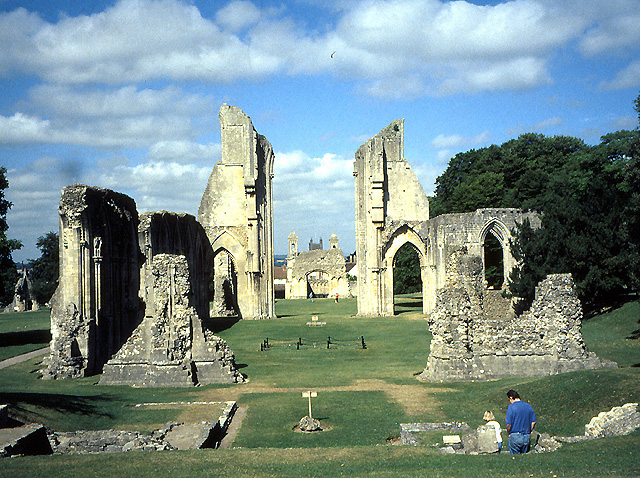 Abbey at Glastonbury