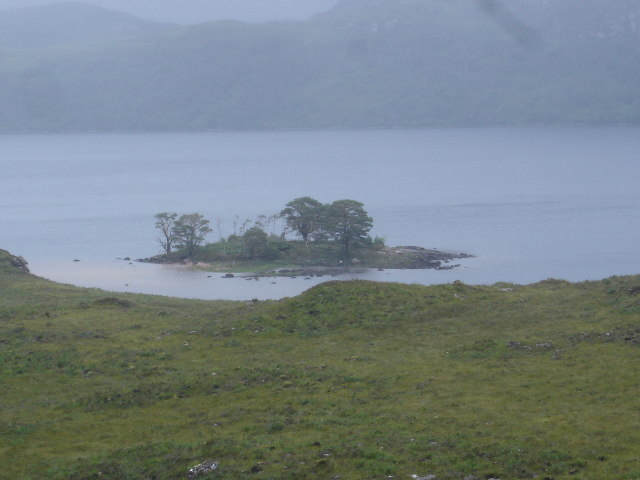 Small Island in Loch Maree