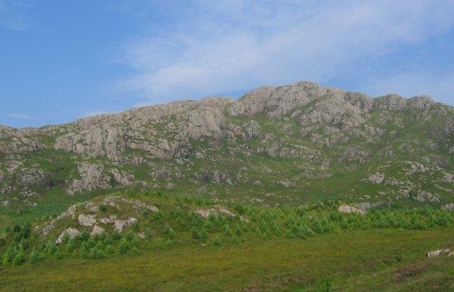 Meall Loch a' Chleirich.