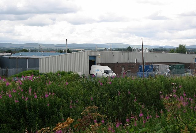 Industrial estate, Bonnyrigg.
