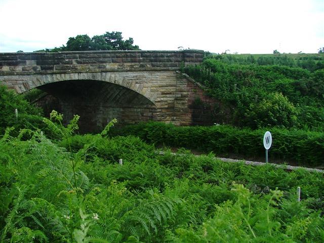 Road Bridge over the Esk Valley Railway