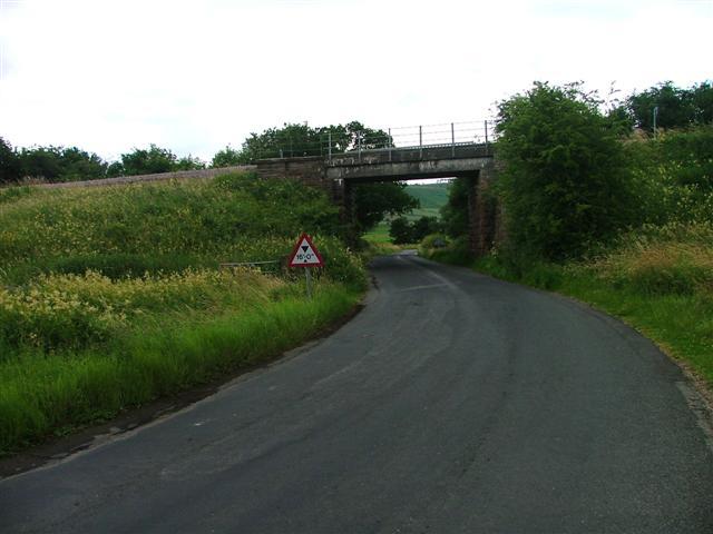 Esk valley Rail Bridge over the Danby Road