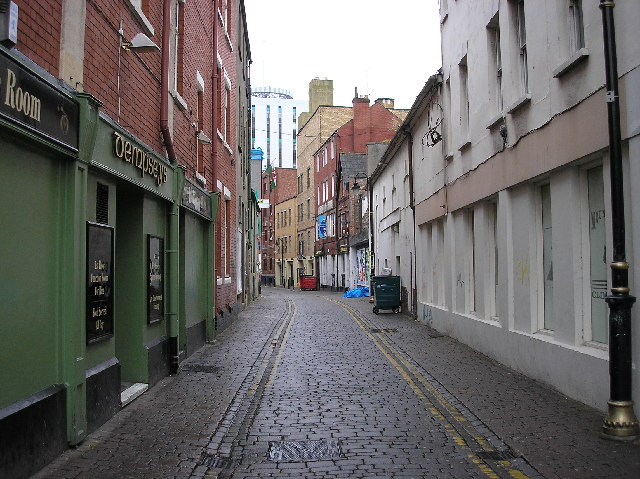 Womanby Street, Cardiff city centre