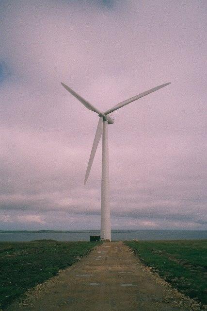Wind turbine, Stronsay