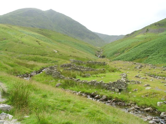 Sheepfold Ruins on Glenridding Beck