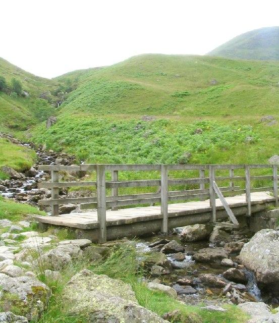 Footbridge over Red Tarn Beck