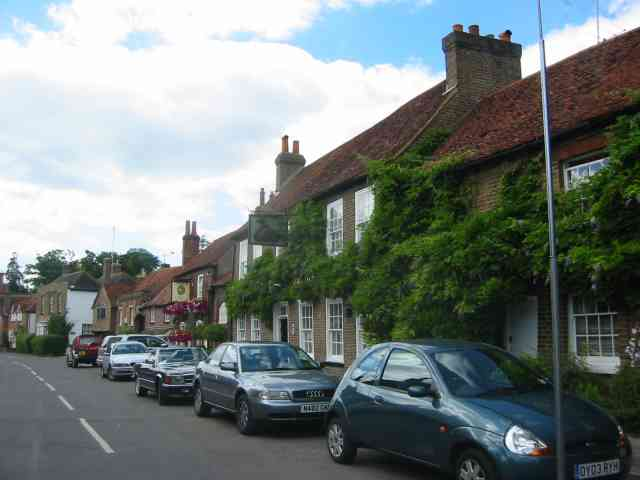 Two pubs in Denham Village