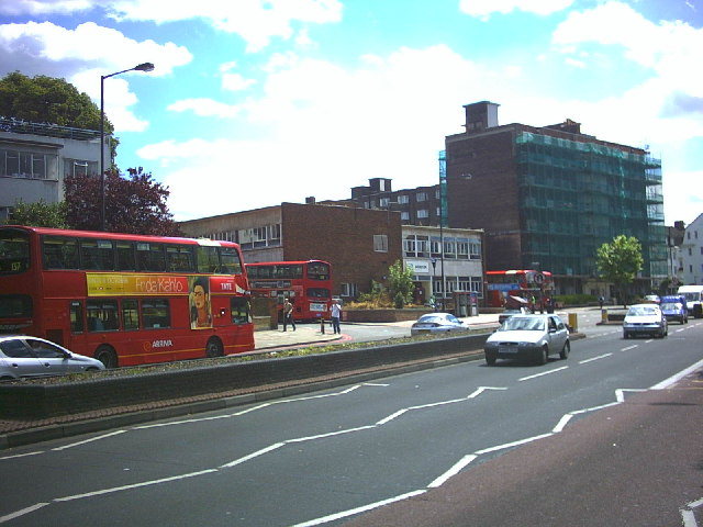 Brixton Bus Garage, Streatham Hill (A23).
