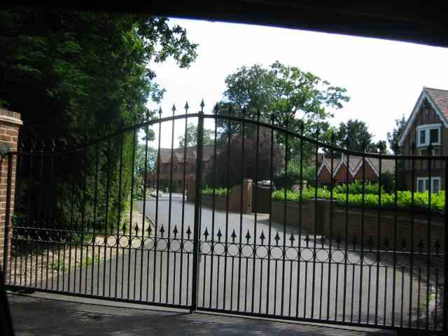 Entrance Gates to Denham Manor