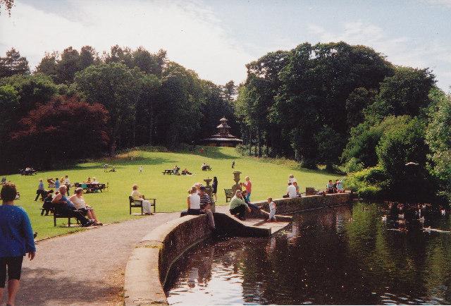 The Swan Pond, Culzean Castle
