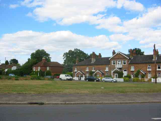 Houses on the Green at Gerrards Cross