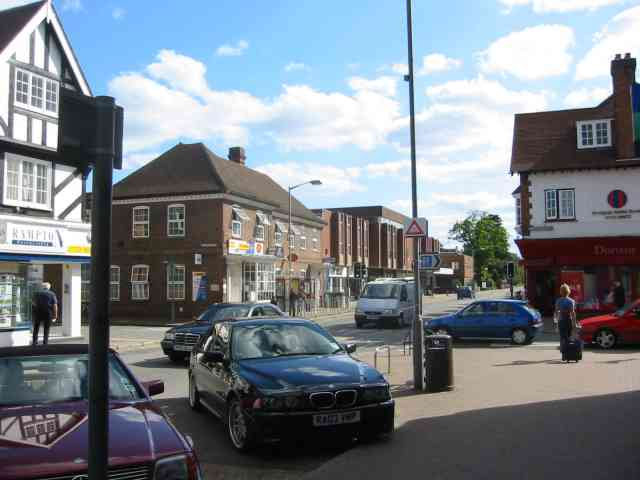 This is Gerrards Cross town centre {to my mind}
