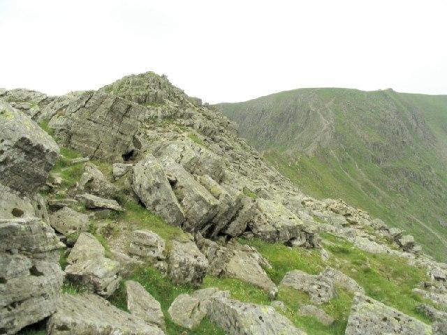 Peak on Striding Edge