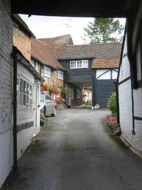 Courtyard houses in Amersham {Old Town}