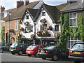 SU9597 : Elephant and Castle Pub - Amersham Old Town by Jack Hill