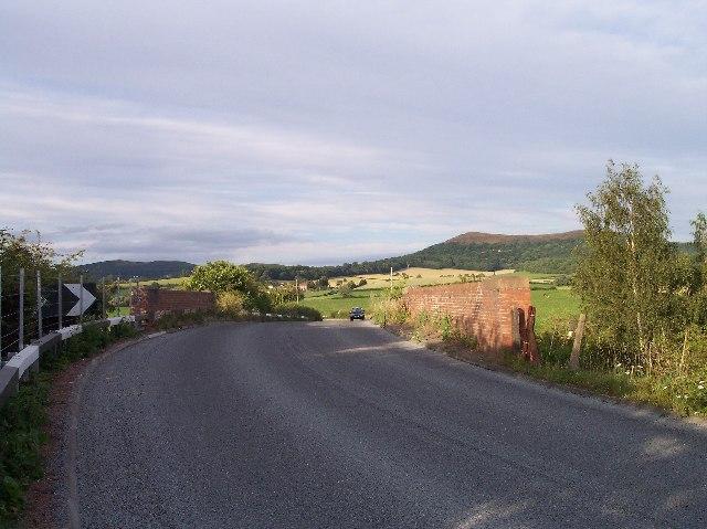 Bridge over the Malvern to Ledbury Railway, Eastnor