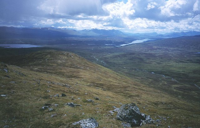 South Ridge of Beinn Pharlagain.